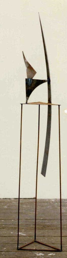 Scultura di Adriana Amodei - Mannlicher 1989 165x27x26