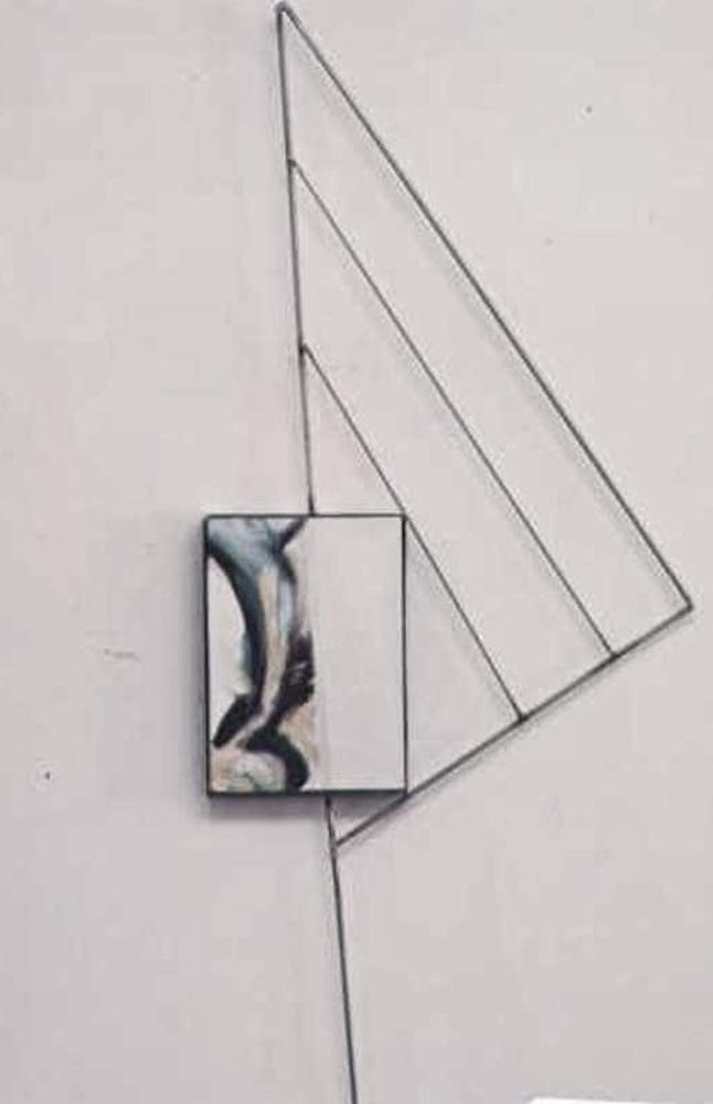 ARTAE - a cura Achille Bonito Oliva - opera di Adriana Amodei - Tensione, 144x65x6 1990