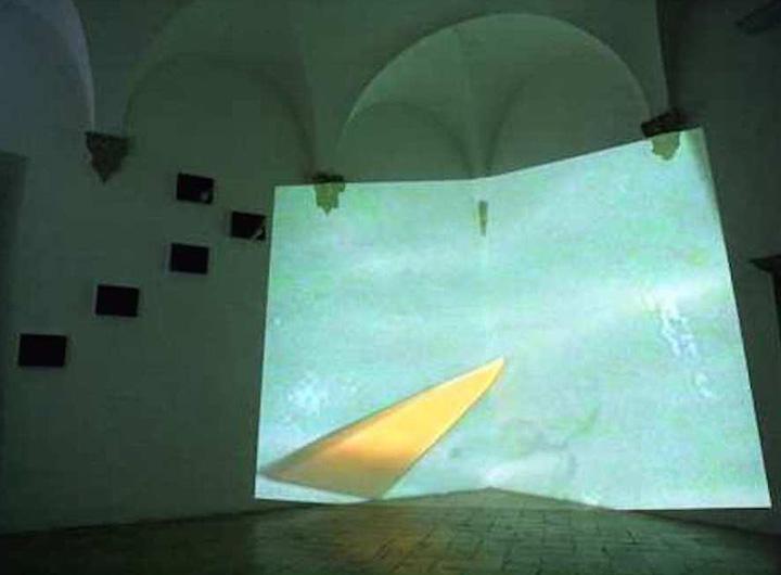 Rocca-eventi_Opera In Contro videoinstallazione